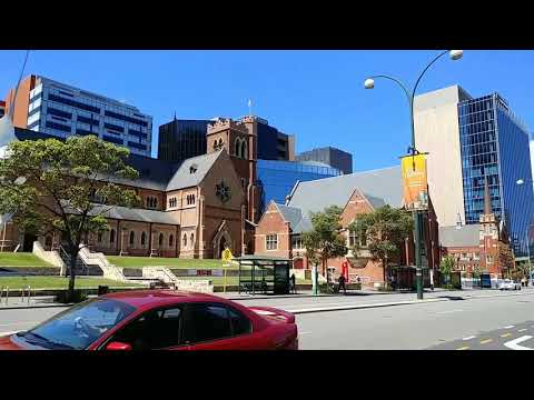 walking around Perth