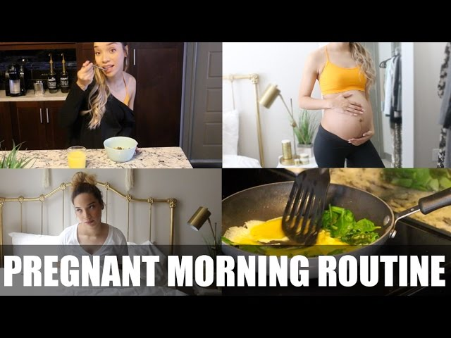 MORNING ROUTINE| Pregnant Edition! | RAVEN ELYSE