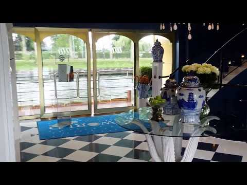 On a RIVER CRUISE along the Amsterdam-Rhine Canal & River Rhine (Netherlands & Germany)