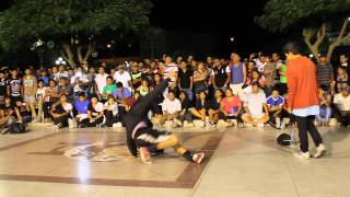 Bboy Loco (Arequipa) vs Bboy ¿? (Nasca) - Evolution Break 2014 Nasca