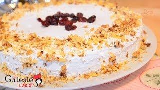 Reteta de Tort cu crema de Cafea si Nuca