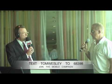 Jay Severin with Tom Wesley