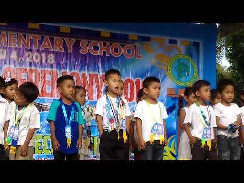 Graduation ceremony at lepanto elementary school