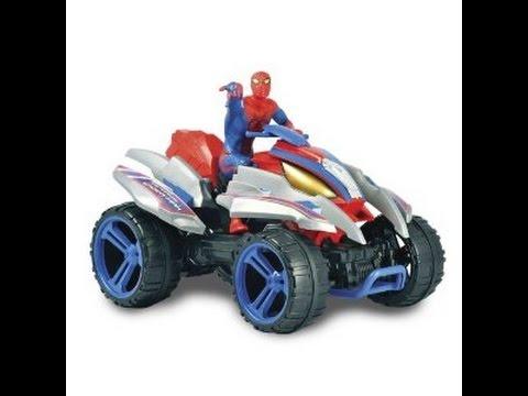 Spiderman quad jouets pour enfants youtube - Quad spiderman ...