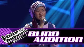 Amanda -  Piece By Piece  | Blind Auditions | The Voice Kids Indonesia Season 3 GTV 2018
