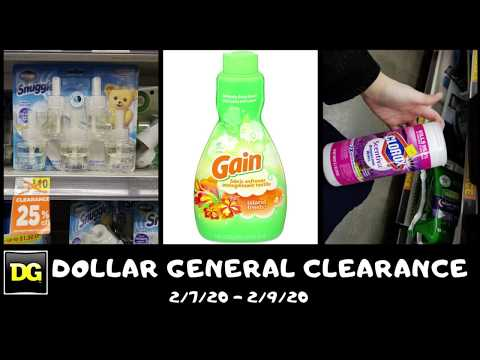 50% Off Dollar General Clearance Sale February 7 To 9