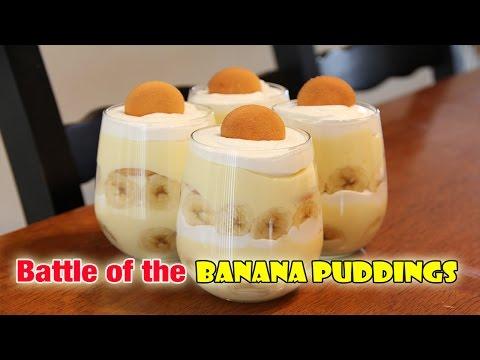 Battle Of The Banana Puddings