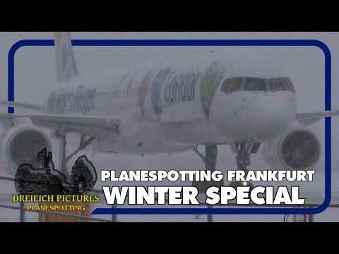 Planespotting Frankfurt Airport | Schnee Special