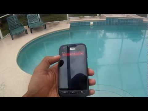 Samsung Galaxy Rugby Pro  Water test 1