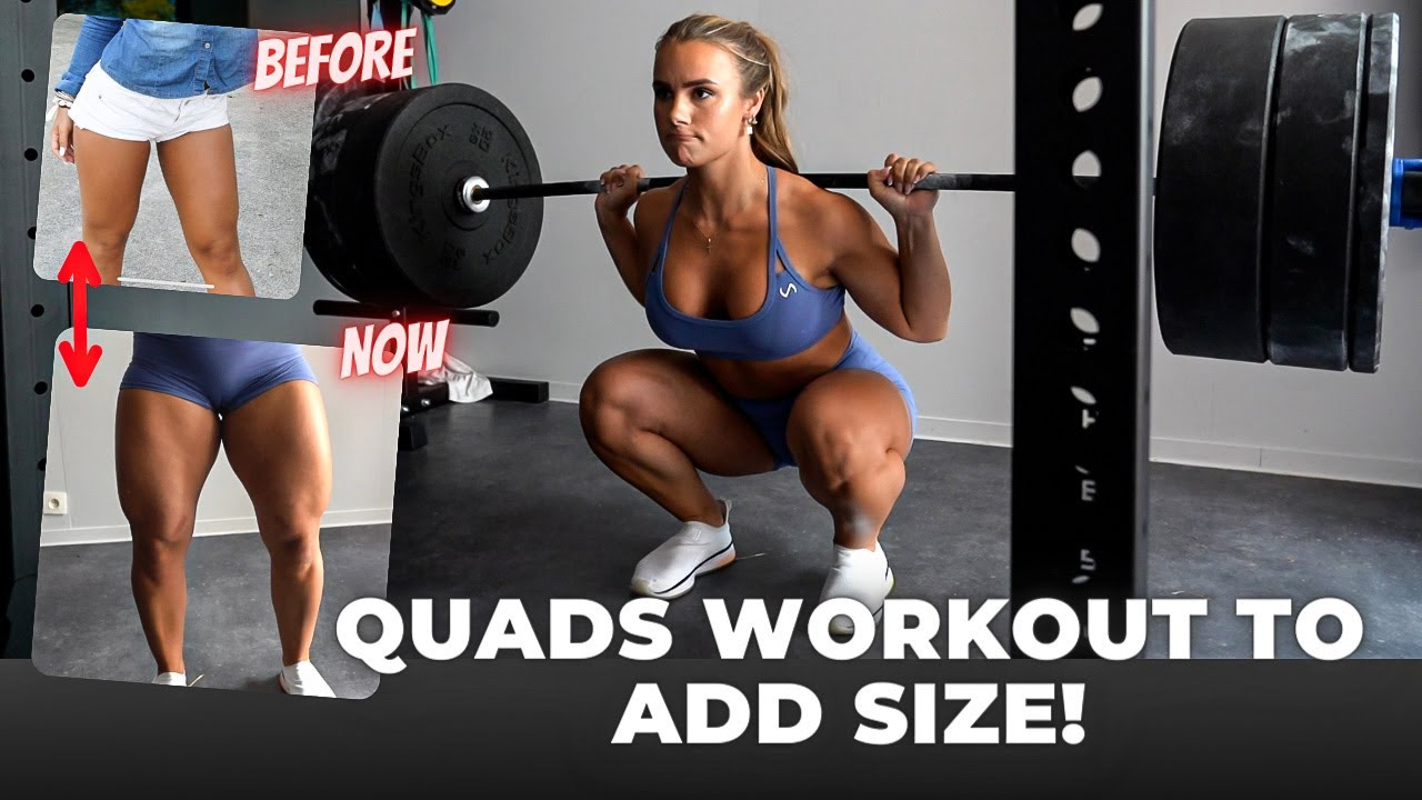 THE BEST QUADS WORKOUT FOR MASS | My Top Tips