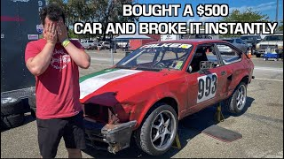 I BOUGHT A CHEAP $500 CAR AND IMMEDIATELY BROKE IT