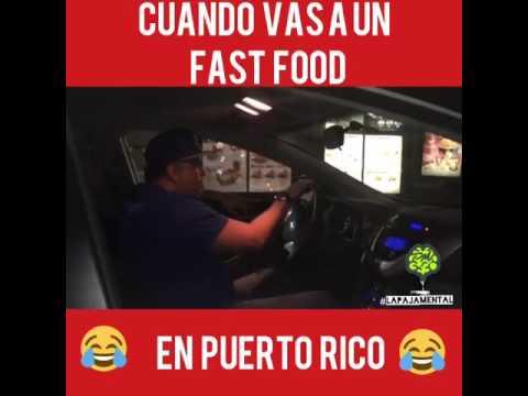 Los fast food de Puerto Rico (rich port)