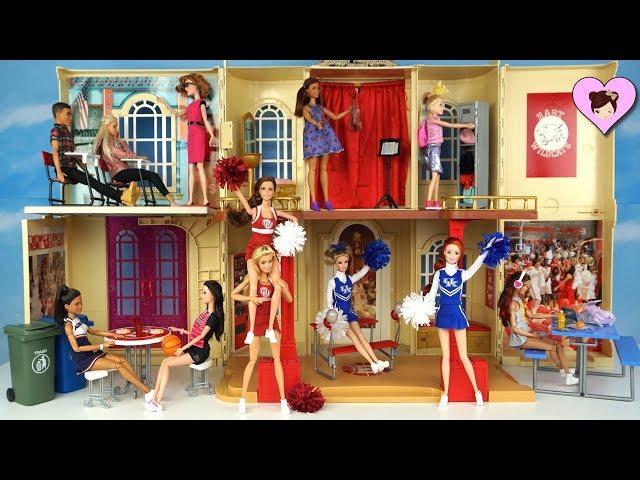 Barbie Disney High School Musical Playset Doll house - Barbie Cheerleader Dolls