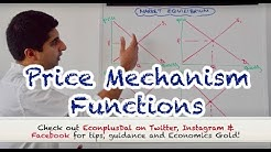 Y1/IB 7) Price Mechanism - The 4 Functions