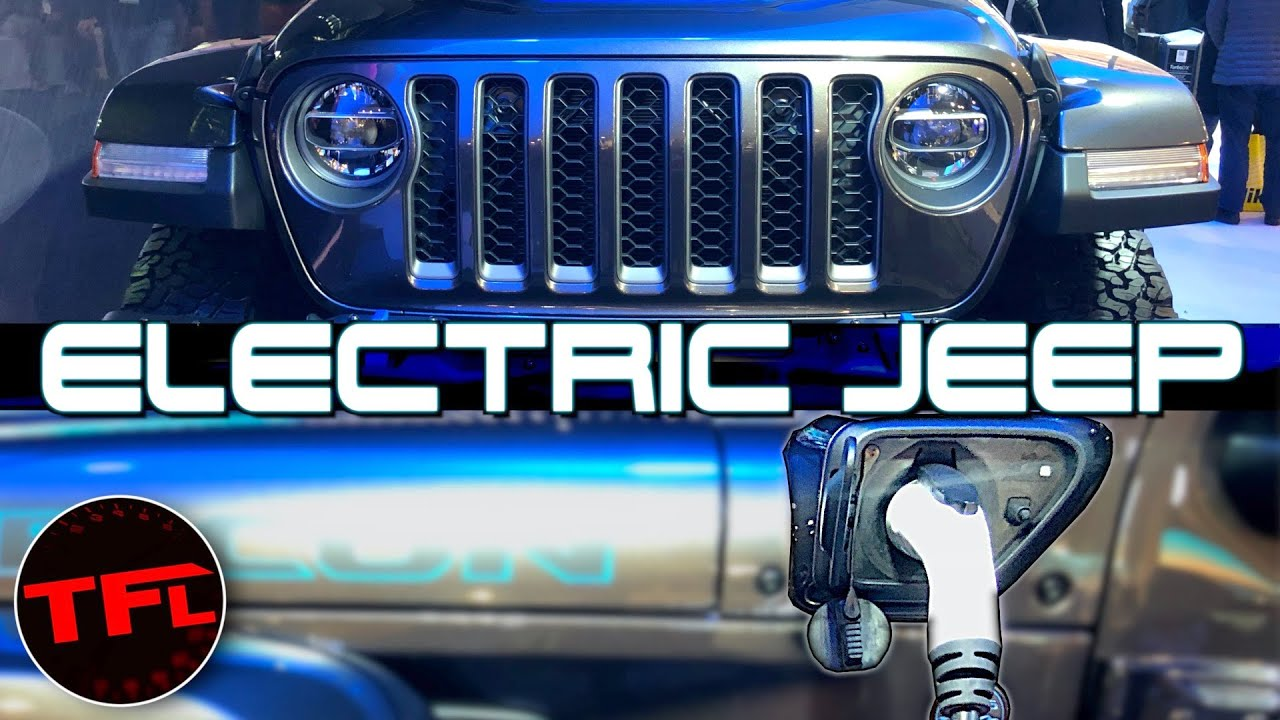 The Electric Wrangler is Here! Jeep Wrangler 4xe Plug-In Hybrid First Look