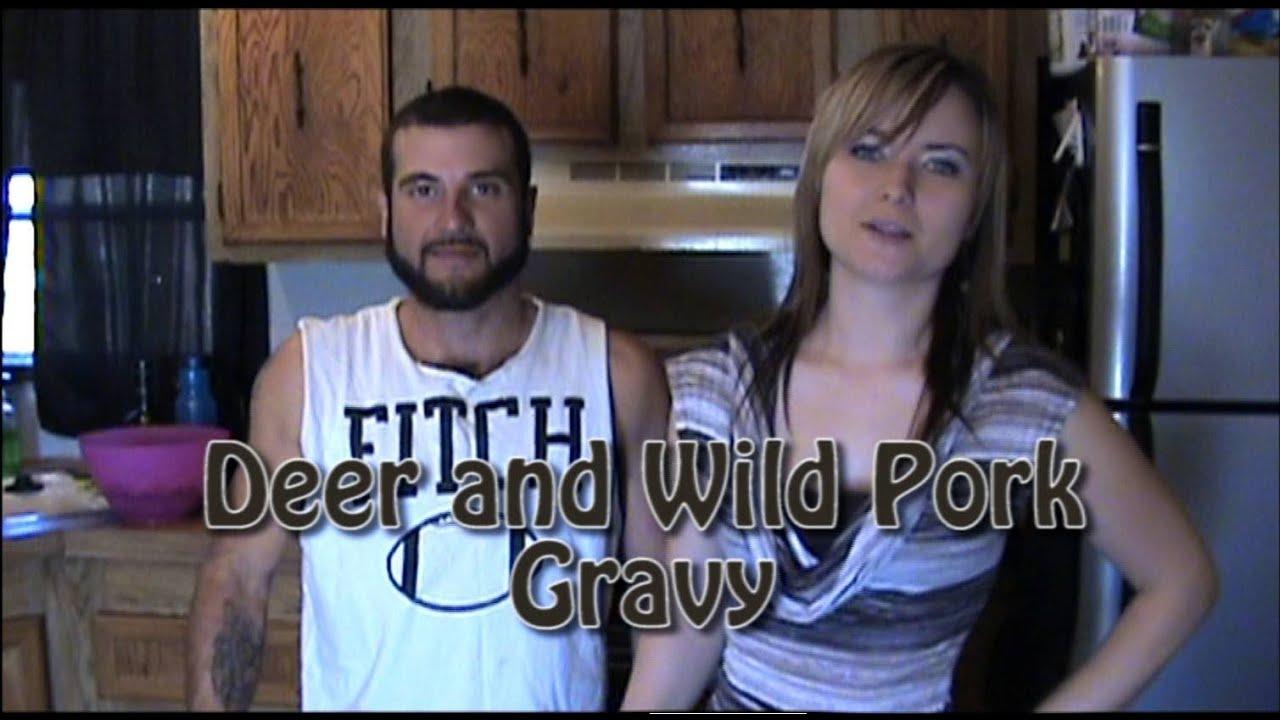 how to make deer gravy