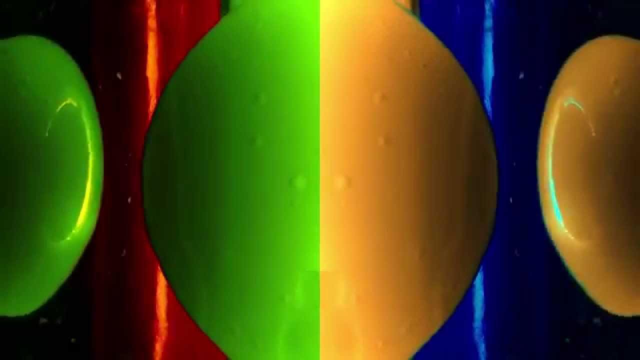 Lavalampe mit farbwechsel dekovideo