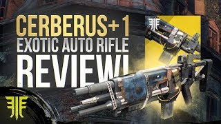 Destiny 2: Cerberus +1 NEW EXOTIC Auto Rifle Review! New Forsaken Exotic Weapon!