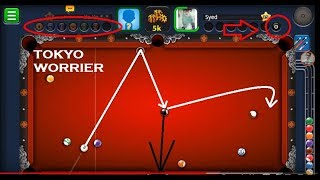 How to win Tokyo Worrie 5k match | New Hack 8 ball pool