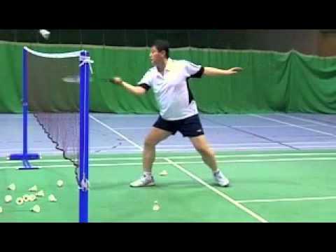 Badminton-Forehand Spin Net Shot