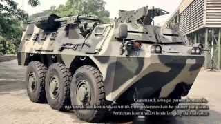 Panser ANOA Produksi Pt.Pindad Bandung