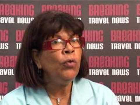 Astrid Muller, General Manager, Divi Aruba Phoenix Beach Resort @ CHA 2008
