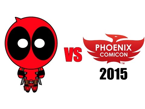 Deadpool vs Phoenix Comicon 2015