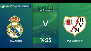 Real Madrid 2 5 Rayo Vallecano 4 тур Испания