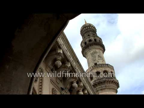 Charminar a historical monument in Hyderabad