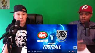 NRL 2018 Round 1 Warriors vs Rabbitohs Highlights | Reaction