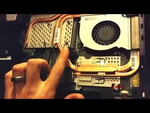 Take Apart MSI GT70 Gaming Laptop