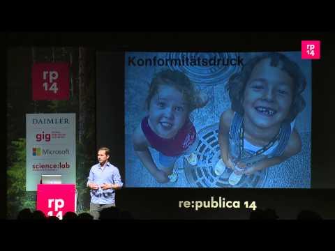 """re:publica 2014 - Friedemann Karig: """"Überwachung macht ... on YouTube"""