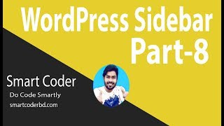 WordPress Theme Development Bangla Tutorial for Beginners Full Step By Step -(Sidebar-8 ) Part 28