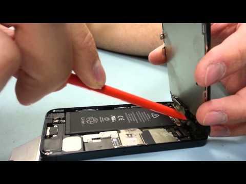 Como reparar iPhone 5 pantalla en 3 minutos