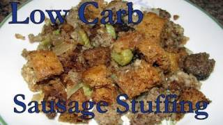 Atkins Diet Recipes: Best Low Carb Sausage Stuffing (if)