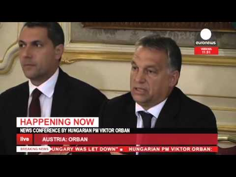 "[Live] Viktor Orbán press conference ""We feel that Hungary was let down"""