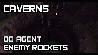 GoldenEye 007 Enemy Rockets Walkthrough Part 17 Caverns 00 Agent