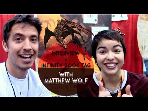 infinity book tag interview with matt wolf the ronin saga youtube