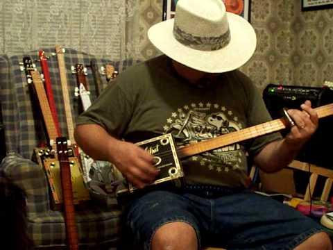 Cigar Box Guitar #146 by back porch mojo