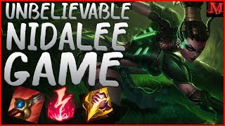 Interesting game | Nidalee guide season 8 | Gameplay commentary
