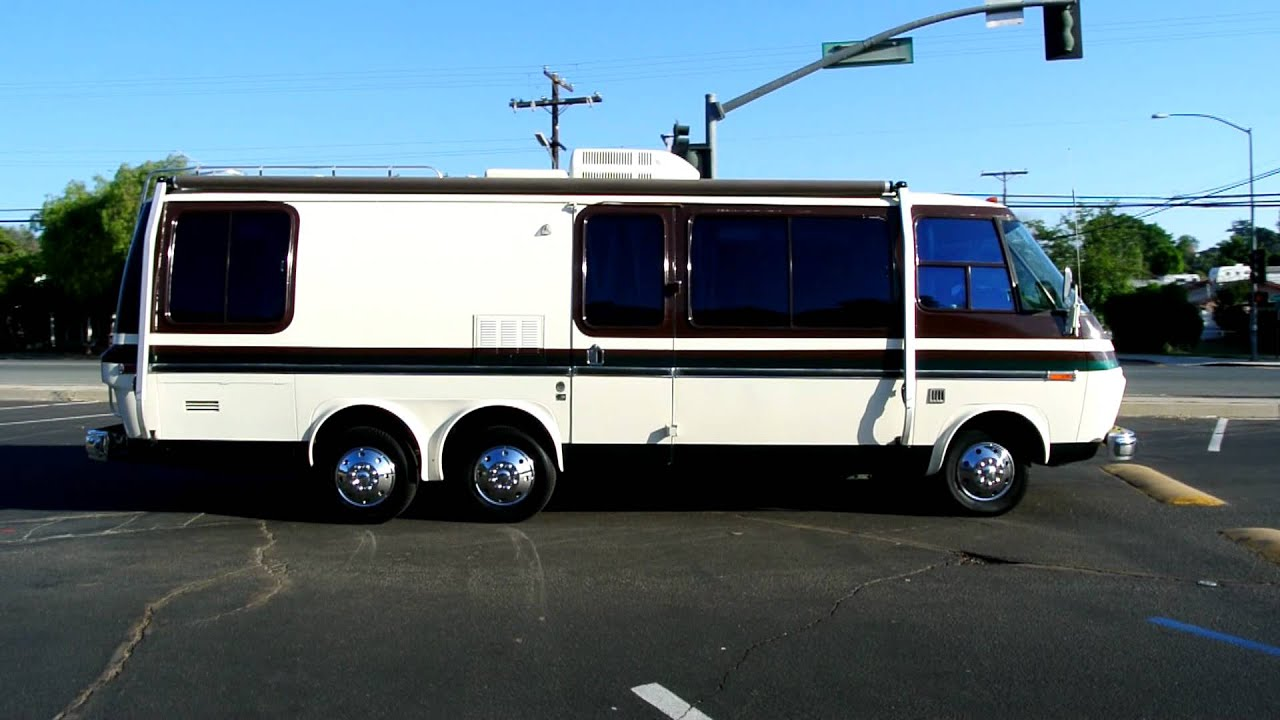 Used Motorhomes For Sale By Owner >> 1973 GMC Motorhome RV Camper 26' FWD 455 V8 Classic Youngtimer Caravan - YouTube