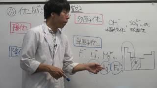 【化学基礎】イオンの生成とイオン反応式(2of2)