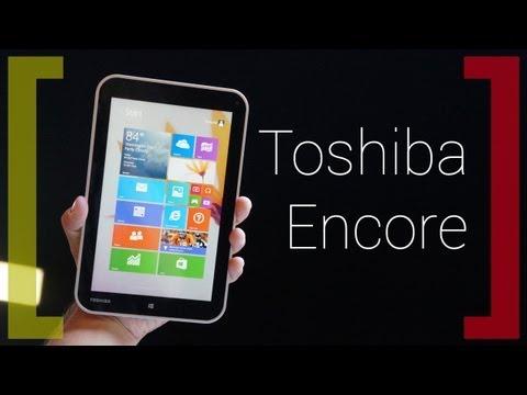 Знакомство с Toshiba Encore