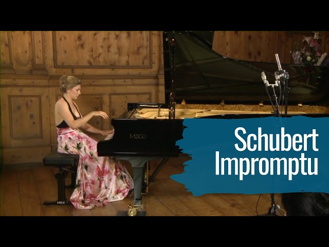 Schubert Impromptu: Cordelia Williams plays D.899/1
