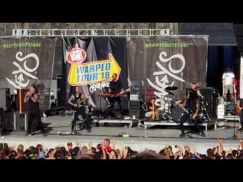 Falling In Reverse Losing My Life Warped 2018 Salt Lake