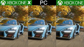 Forza Horizon 4 Xbox One X vs Xbox One vs PC, A Technical Showcase - Best Looking Racing Game Ever?