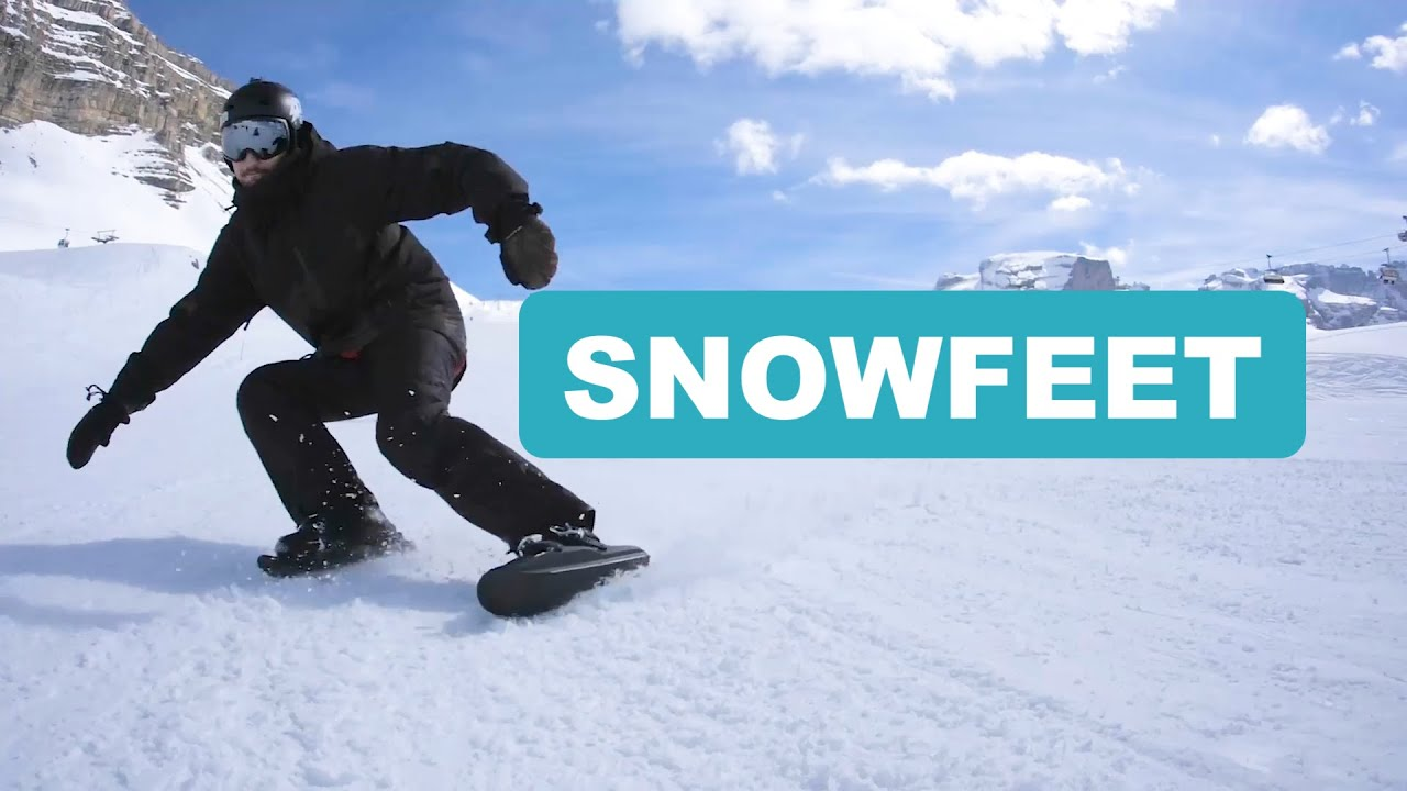 Snowfeet - New Winter Sport 2019 | Skiing With The Epic Tricks Of Ice Skating