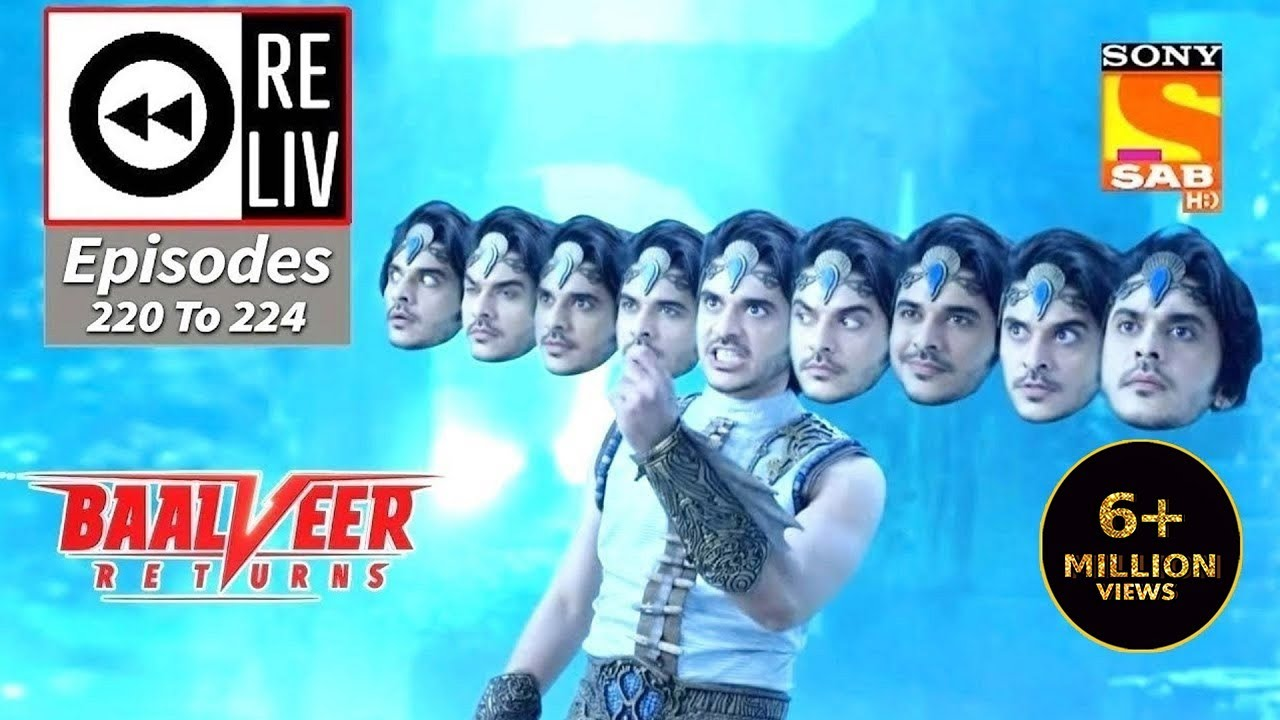 Download Weekly ReLIV - Baalveer Returns - 26th October 2020 To 30th October 2020 - Episodes 220 To 224