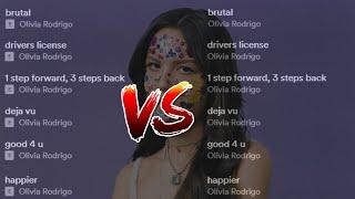 SOUR - Clean v. Explicit Versions (Olivia Rodrigo)