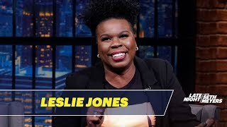 Leslie Jones Thought Seth Was So Beautiful When She Met Him